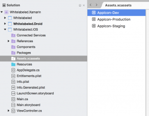 White-labeling Xamarin iOS apps